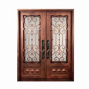 iron doors unlimited 62 in x 815 in vita francese With bronze entry doors