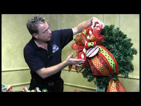 decorating with mesh ribbon for christmas how to decorate a wreath trees n trends