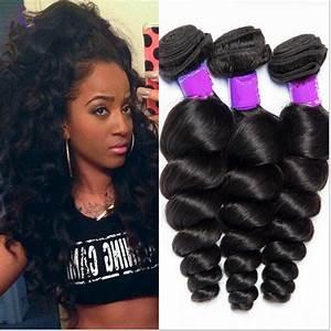 3 Bundles Unproceseed Virgin Brazilian Human Hair Loose ...