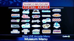 Review Of Namco Museum Virtual Arcade For Xbox 360 By