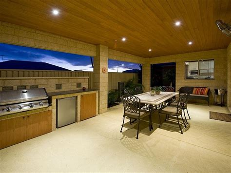 outdoor area design ideas outdoor living design with bbq area from a real australian home outdoor living photo 276639