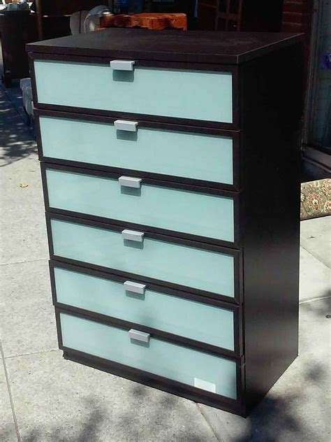 Ikea Hopen 6 Drawer Dresser by Uhuru Furniture Collectibles Sold Ikea Hopen 6 Drawer