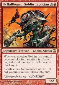 Goblin Commander Deck by This Scary World W Norin The Wary Commander Edh Mtg Deck
