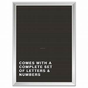 old reliables letter board w aluminum frame black panel With black letters for letter board