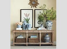 34 Stylish Console Tables For Your Entryway DigsDigs