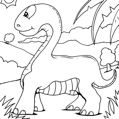brachiosaurus colouring   colouring pages