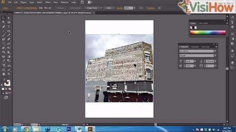 apply blur  images  illustrator cs visihow