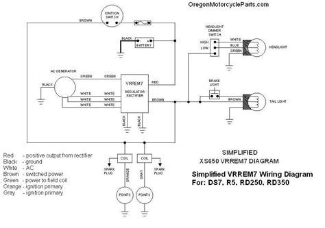 rd350 regulator rectifier