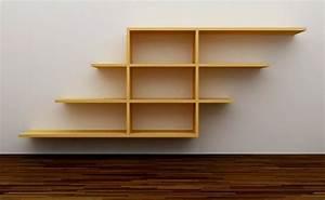 Repisas de madera para la pared - EspacioHogar com