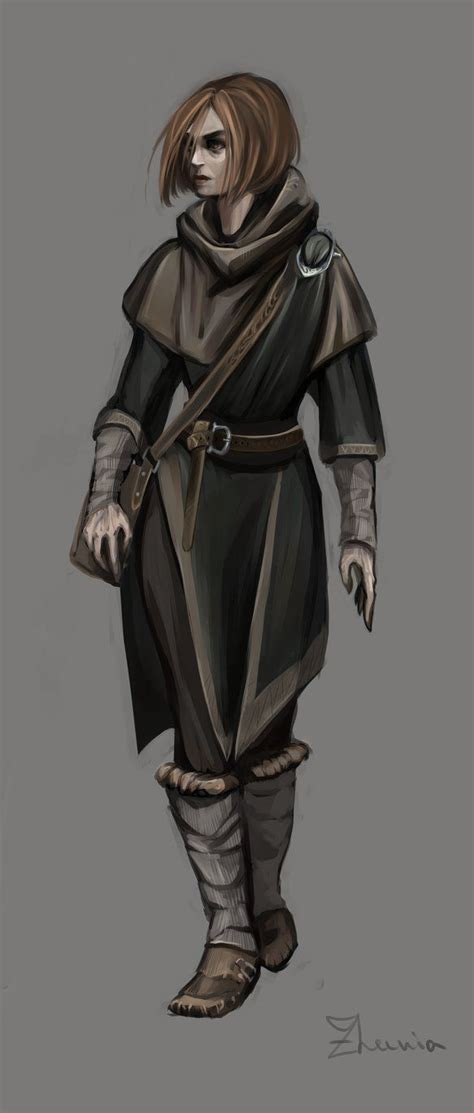 Skyrim Mage By Isolenta On Deviantart Characters
