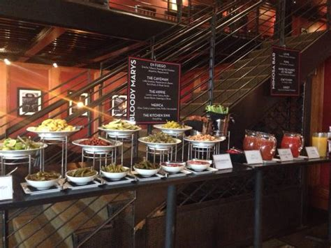 mimosa cuisine bloody and mimosa bar picture of americana