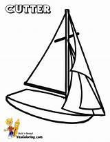 Coloring Pages Sailing Ship Boat Printable Cutter Boats Yacht Ships Boys Yescoloring Superb Yachts Printout sketch template