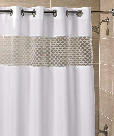 hotel shower curtain is usually white enstructive