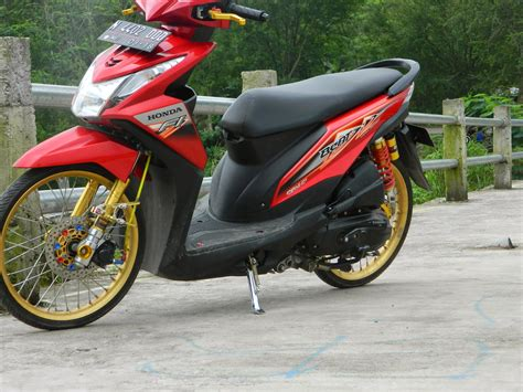 Modif Beat Baru by Modifikasi Honda Beat Fi Velg 17 Wallpaper Modifikasi Motor