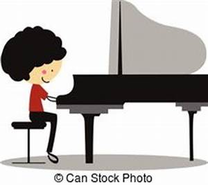 Man Playing Piano Clipart (99+)