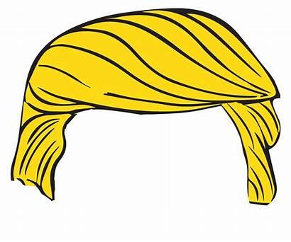 Trump Clip Donald Transparent Clipart Hair Css