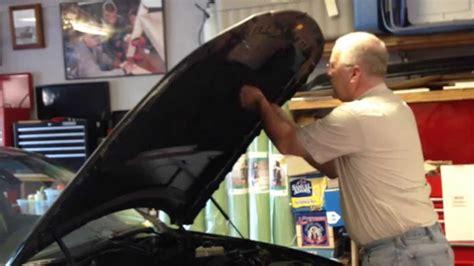 engine underhood mat restoration project  bmw