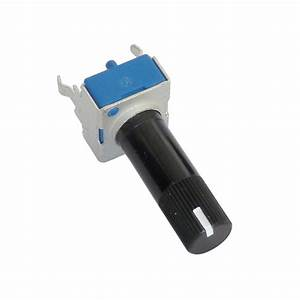 9mm 10k Ohm Rotary Trimmer Potentiometer With White Line