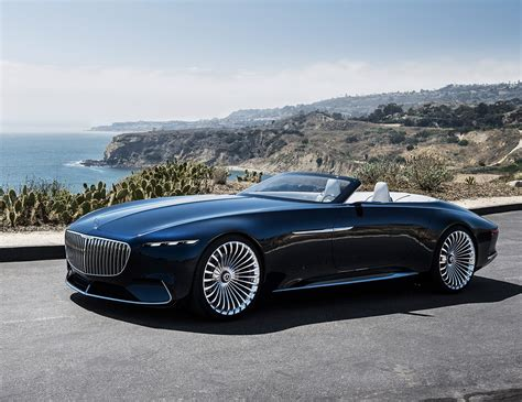 maybach mercedes vision mercedes maybach 6 cabriolet is a real land shark