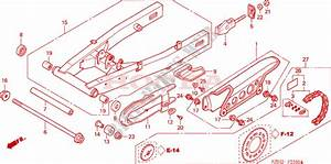 Swingarm For Honda Xr 125 L Electric Start 2004   Honda