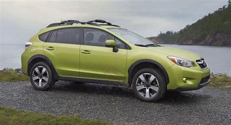subaru axes xv crosstrek hybrid  poor sales carscoops