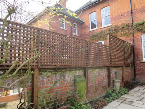 small square trellis fences gallery long eaton fencing