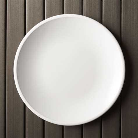Kitchen Photos Ideas - lunea melamine white 10 5 quot dinner plate crate and barrel
