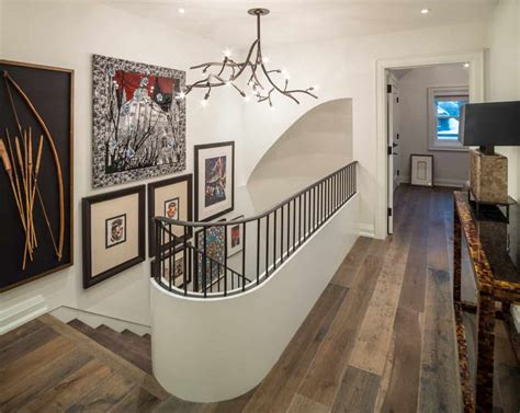 Treppenaufgang Tapezieren Ideen by 46 Floor Staircase Landing Ideas Photos