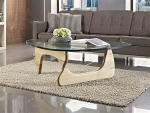 Noguchi Coffee Table : elite noguchi style glass coffee table ~ Watch28wear.com Haus und Dekorationen