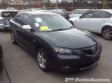 2006 Mazda 3 Parts by 2006 Mazda 3 4 Door Sedan 2 0 Litre Automatic Black