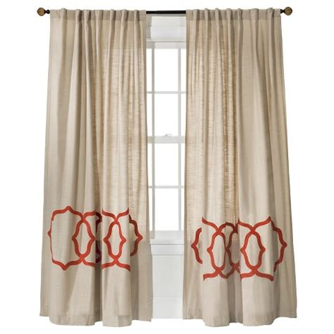 threshold fretwork border curtain panel target