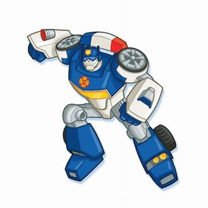 Rescue Bots Chase Transformers Birthday Bot Clipart