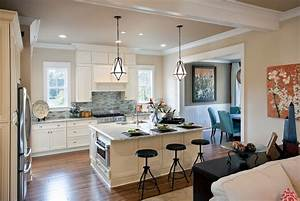 Beige walls with brown trim kitchen traditional with beige