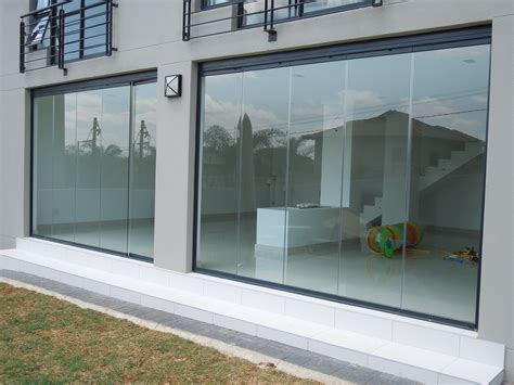 best quality frameless stacking doors