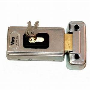 serrure electrique 24 vac horizontale a pene pivotant viro With serrure electrique