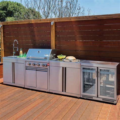 Gasmaster Hero 4 Burner Bbq Outdoor Kitchen + Free