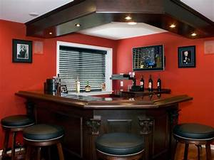 solving basement design problems hgtv With what kind of paint to use on kitchen cabinets for motorcycle metal wall art