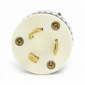 Superior Electric Yga018 Twist Lock Electrical Plug 3 Wire