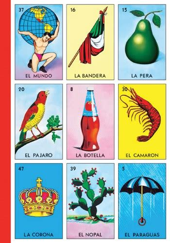loteria tablas journal