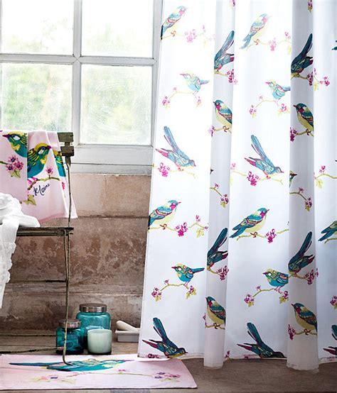 bird shower curtain refreshing shower curtain designs for the modern bath