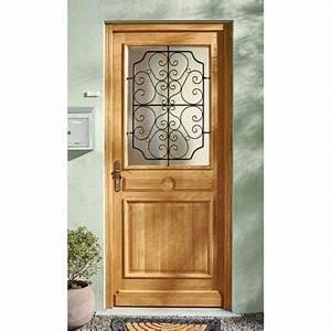 porte d entree castorama veglixcom les dernieres With porte d entrée pvc avec meuble salle de bain bois vasque noir