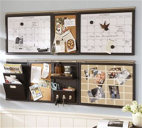 wall organizer system for kitchen the modern cottage company message board out of 8882