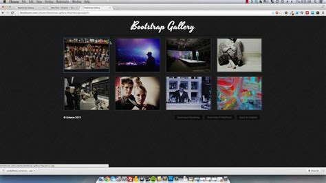 bootstrap gallery bootstrap responsive lightbox gallery mp4