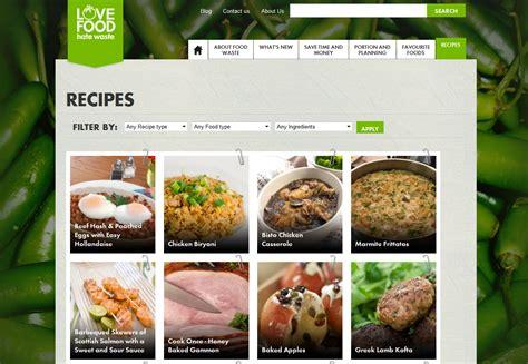 cuisine site s websites of the week food waste