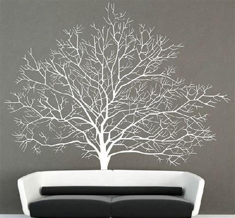 stickers muraux branche d arbre d 233 calque de mur arbre bouleau blanc stickers muraux branche for 234 t automne arbre autocollant