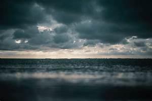 Free, Images, Beach, Dark, Clouds, Dawn, Dramatic, Dusk, Evening, Horizon, Landscape, Ocean