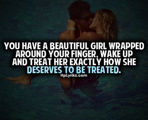 not treating a girl right quotes