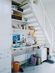 Bureau Sous Escalier : rangement sous escalier pour optimiser l 39 espace ~ Farleysfitness.com Idées de Décoration