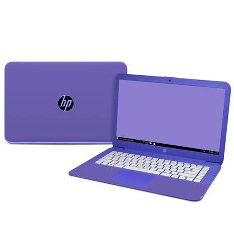 Hp 14 Bs009tx Grey hp 14in skin solid state purple by solid colors