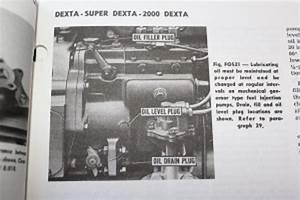 Fordson Dexta Fuel Diagram